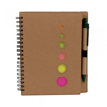 Eko beležka z eko kemičnim svinčnikom in označevalci MIŠJEK – 00295