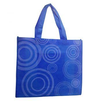 Zložljiva nakupovalna vrečka s KROGI – 00713