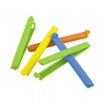 SET 5 zapiralk za PVC vrečke – mešano – 00744