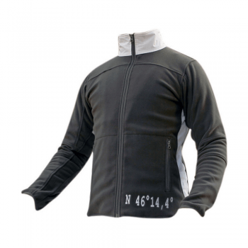 Moška jakna flis – SVETLO SIVA- 00807