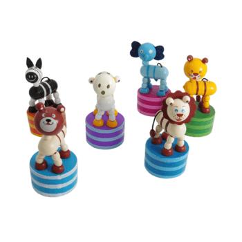 Šilček s figurico štirinožne živalice na elastiki –  00445