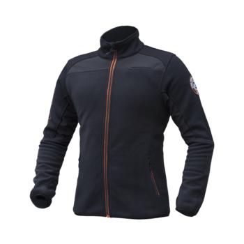 Moška hybrid jakna Črna – 00823