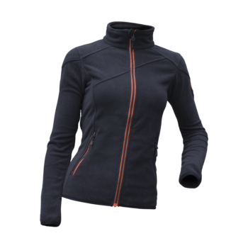 Ženska jakna flis Črna – 00827