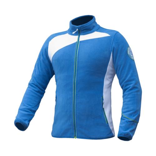 Moška modra flis jakna