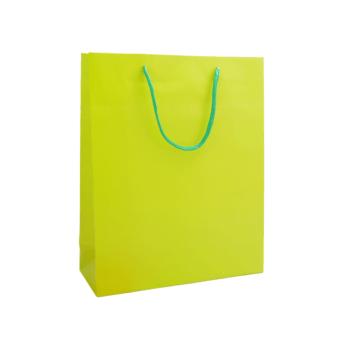 Plastificirana papirnata darilna vrečka sanje – 00934