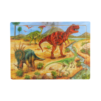 Lesene otroške puzzle velike – 00440 (eko)
