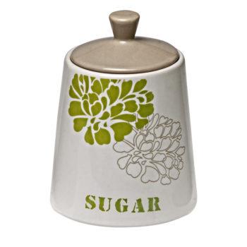 Keramična linija za kuhinjo – set za čaj, kavo in sladkor – 00589 (3 posode eko)