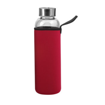 00929-HIGH GRADE borosilikatna steklenica v neoprenu: volumen: 550 ml/teža: 275g (eko)