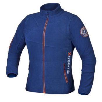 Moškla flis jakna Modra – 00828