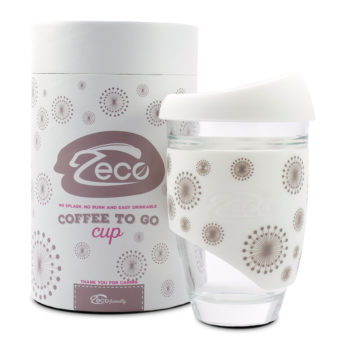 Zeco Coffee to go – DANDELION – 00154BE (HIGH GRADE borosilikatno steklo)