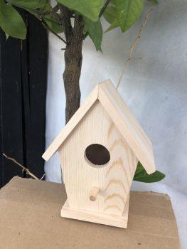 Eko lesena ptičja hišica – 00753 (eko)