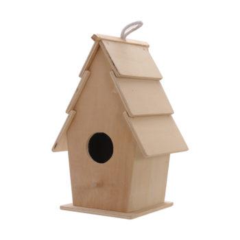 Eko lesena ptičja hišica – 00753