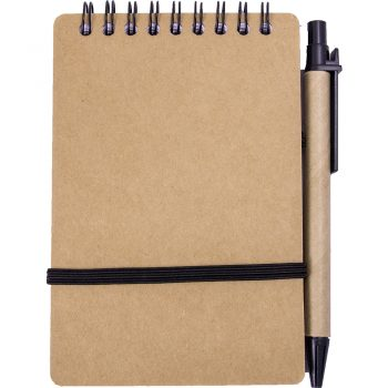 Eko beležka BOR z eko kemičnim svinčnikom – 00566