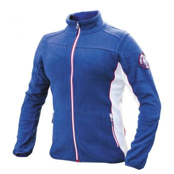 Moška flis jakna Modro-rdeče-bela – 00832