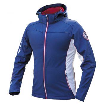 Moška softshell jakna Modro-rdeče-bela – 00843