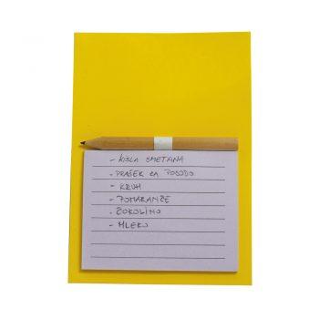 Mala MAGNETNA beležka s svinčnikom – 00997