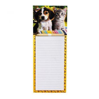 Velika MAGNETNA beležka s svinčnikom za na hladilnik – 00996