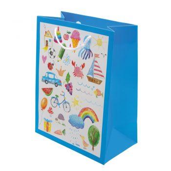 Darilna otroška vrečka MALA -00889 (eko)