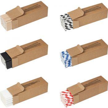 SET 100 kosov papirnatih slamic (EKO) – 81491**