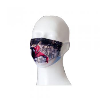 OTROŠKA PRALNA DVOSLOJNA ZAŠČITNA OBRAZNA MASKA – sublimacijski tisk maske z vašim motivom, logotipom – 3007-korona