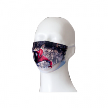 OTROŠKA PRALNA DVOSLOJNA ZAŠČITNA OBRAZNA MASKA – sublimacijski tisk maske z vašim motivom, logotipom – 03007-korona